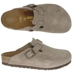 Ideas how to wear birkenstock clogs heels Birkenstock Sandals, Birkenstock Boston, Cute Shoes, Me Too Shoes, Fab Shoes, Love Fashion, Womens Fashion, Fashion 2014, Everyday Shoes