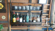 Rack para licores y cristalería