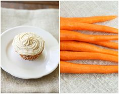 raw carrot cupcakes with cashew buttercream by lamesablog, via Flickr