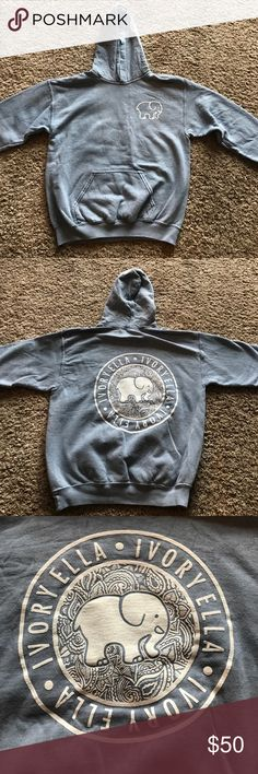 Ivory Ella sweatshirt Cobblestone indigo, Ivory Ella sweatshirt. Never worn, too small for me. Comes with all tags and stickers. Brand new. ivory ella Tops Sweatshirts & Hoodies