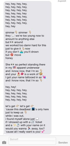 Seriously if any guy sent this to me I would die or a girl I don't even care lol just do it.