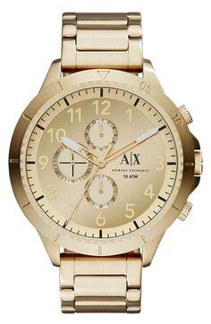 AX Armani Exchange Chronograph Bracelet Watch, 50mm