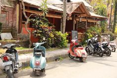 A Vespa or two... Ubud ©photo by jadoretotravel