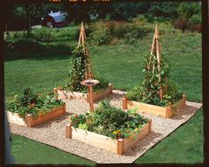 Copper Cap Raised Beds are the most attractive raised beds. Available in 3 sizes. Copper caps prohibit rotting and give the bed a handsome and finished look in your garden.