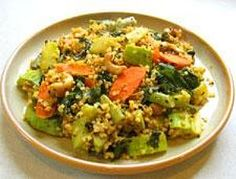 Simple Quinoa and Vegetable Stir Fry - Quick and simple recipe,deliciously served hot from the pan or as a cool salad.