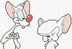 I'm almost finished with my Pinky cross stitch, but I wanted to share this pattern of Pinky and the Brain together first since I had to sh...
