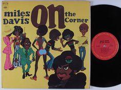 MILES DAVIS On The Corner COLUMBIA LP NM