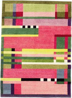 Bauhaus rug design by Gunta Stölzl