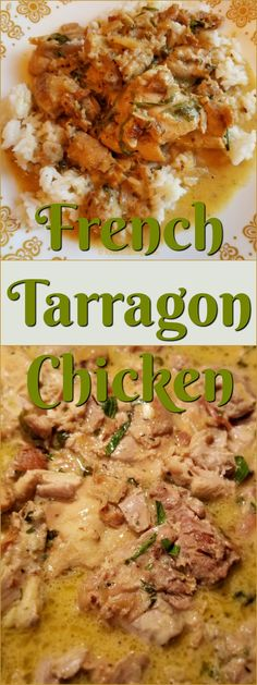 This French Tarragon Chicken Recipe is and Sauté boneless chicken with shallots, add a touch of sherry and a bite of vinegar then braise in rich broth for a scrumptious 30 minute meal. Serve the chicken and the creamy sauce over buttered rice. Chicken Breast Recipes Healthy, Easy Chicken Recipes, Healthy Recipes, Duck Recipes, Great Recipes, Boneless Chicken, Baked Chicken, Tarragon Chicken, Fast Dinners