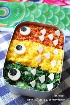 Koinobori Bento Box. 簡単こいのぼり弁当♪