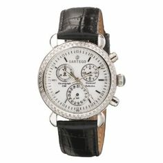 Sartego Women's SDWT185B Diamond Collection Swiss Quartz Movement Watch Sartego. $348.25. Water-resistant to 165 feet (50 M). 108 diamonds gracefully set on bezel. Date sub-dial; 30 minute chronograph. Case diameter: 35.22 mm. Luminous hands and markers. Save 65% Off!