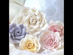 NEW: How to make a gumpaste rose - YouTube