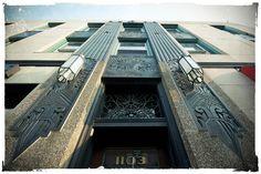 art deco | Wright Elsom Building Oak Park, Illinois Built in… | Flickr