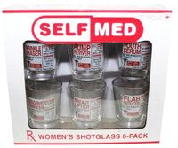 Snapsilasit Naisten lääkkeet - Surpriseme.fi Shot Glass, Self, Humor, Humour, Funny Photos, Funny Humor, Comedy, Lifting Humor, Shot Glasses