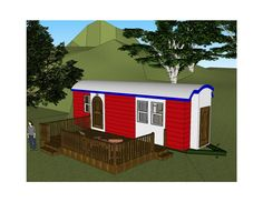 The Zephyr | Tiny Green Cabins