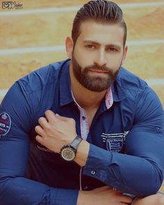 Babyface of a strong man Beard Styles For Men, Hair And Beard Styles, Strong Guy, Male Fitness Models, Husband Best Friend, Beard Lover, Handsome Faces, Hommes Sexy, Men In Uniform