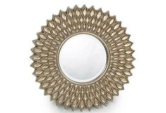 Starburst Mirror - Would look great in bedroom or living room!