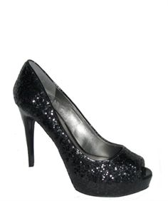 @Rachael Gerber - These are the shoes I got, in pewter.  They are very high, yet very comfortable.
