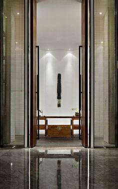 Asian modern interior design