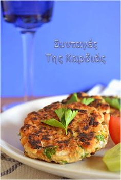 Snack Recipes, Healthy Recipes, Snacks, Healthy Meals, How To Cook Fish, Greek Recipes, Fish And Seafood, Salmon Burgers, Keto