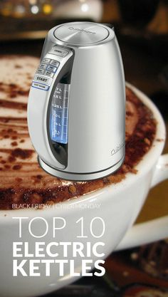 Make hot drinks quickly all winter long. Check out the internet's top 10 electric kettles www.comparaboo.com | @comparaboo