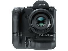 """The game has changed. Medium-format re-invented. FUJIFILM announces Development of Professional-use Mirrorless Camera System """"GFX""""."""