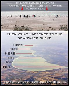 Perspective, Optical Convergence, Horizon, Vanishing Point show that Earth is a Flat plane Outer Space Pictures, Flat Earth Proof, Creepy, Earth Memes, Hollow Earth, Cognitive Dissonance, Vanishing Point, Ancient Mysteries, Open Your Eyes