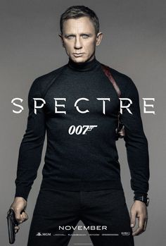 Spectre's First Poster Revealed: See Daniel Craig's Hottest James Bond Look Ever!  Spectre Poster, Daniel Craig