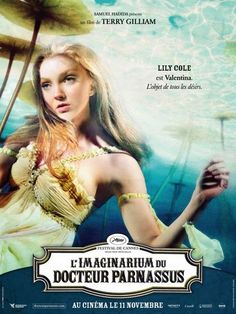 The Imaginarium of Doctor Parnassus French promotional poster ~ Lily Cole