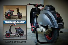 vespa#lambretta#andmore!! Scooters & style magazine french/english