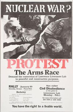 Nuclear War? Protest the Arms Race (1983)