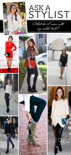 Boots for different occasions and outfits.