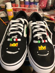 Custom Sneakers, Custom Shoes, Minecraft Shoes, Mc Wallpaper, Aesthetic Grunge Outfit, Swag Shoes, Fun Diy Crafts, Just Dream, Birthday List