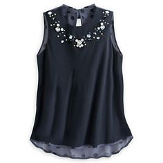 Minnie Mouse Icon Beaded Tank Top for Women  ooooh I love this <3 I need it!
