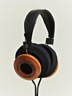 truffol.com | Grado GS1000i Headphones - hand crafted mahogany.