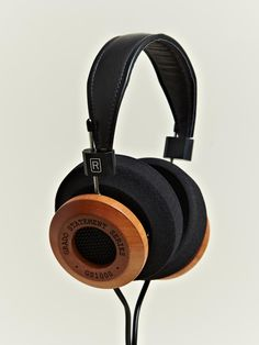 Grado GS1000i Headphones - hand crafted mahogany.