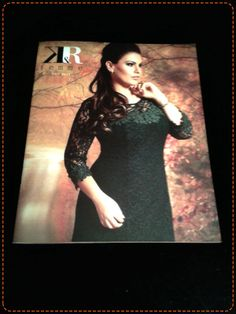 Catálogo da coleção de inverno 2014 da K&R Femme Plus. #moda