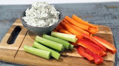 Carla Hall's Cheesy Herb  Dip
