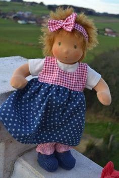 * . + . * + Reserviert * . + . * + von Hermis Puppenstube  - ♥ -  Puppenmachen ist Herzenssache - ♥ - Stoffpuppen zum Liebhaben gemacht ! auf DaWanda.com