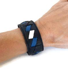 Leather pride, leather fetish, bdsm, leather pride bracelet, leather pride cuff, gay pride, lgbt, gay, armband, arm band, leather braclet. by threedollarbillshop on Etsy