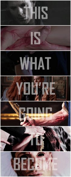 This line always gave me chills and I LOVE it. [gifset] 9x23 Do You Believe In Miracles #SPN #Dean