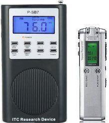 Evp Recorder Plus P-Sb7 Spirit Box Paranormal Research Tools, 2015 Amazon Top Rated EMF Meters #HomeImprovement