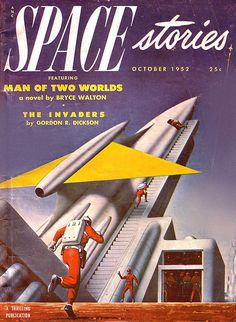 1952. You can get to the moon faster than you can get up these stairs.