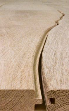 Dutch company Bolefloor have turned the idea of traditional straight floors around and into live edge flooring. Bole means trunk of the tree and by using scanners that identify imperfections in the raw material each board is placed through a process as unique as the wood itself. - See more at: http://www.woodindesign.com/2012/11/27/flooring-bolefloors/#sthash.lKYV9sON.dpuf
