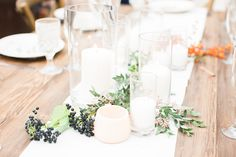 Outdoor Wedding With the Perfect Fall-Inspired Florals