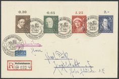 1362### In 1951, 30 series in units, faultlessly Postfr. Very decoratively! Mi. 4200, - .  Lot condition   Dealer Gert Müller Auctions  Auct...