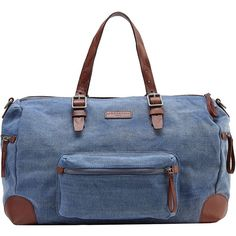 Liebeskind Berlin 24 Hour Overnight Bag (2.847.515 IDR) ❤ liked on Polyvore featuring bags and luggage