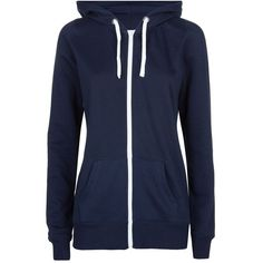 Tall Navy Basic Zip Up Hoodie ($23) ❤ liked on Polyvore featuring tops, hoodies, outerwear, sweaters, navy, zip hoodie, zipper hoodie, navy blue zip up hoodie, blue zip up hoodie and zippered hooded sweatshirt