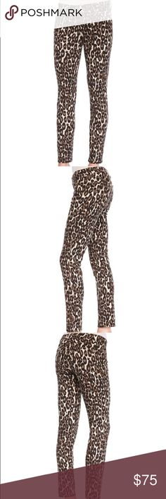 Kate Spade Broom St Autumn Leopard Denim Jean NWT Brand new Kate Spade leopard jeans. Purchased as a gift for my sister, but she decided she couldn't pull them off haha. Size 25. Autumn leopard broome st denim. NJMU4186 Classic Beige and brown colors. MSRP $228. Stretch denim. Low rise; fitted through skinny legs. Five-pocket design. Cropped above ankles. Zip/button closure; belt loops. Cotton/spandex. Priced to sell! kate spade Jeans Skinny
