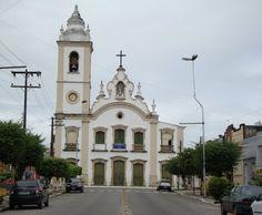 Goiana, Pernambuco - Brasil - Matriz de Nossa Senhora do Rosário dos Homens Brancos